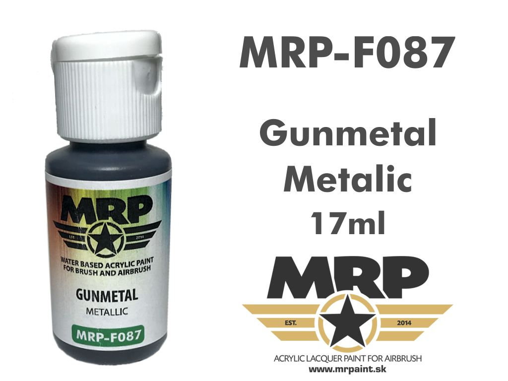 Mr.Paint F087 Gunmetal 17ml