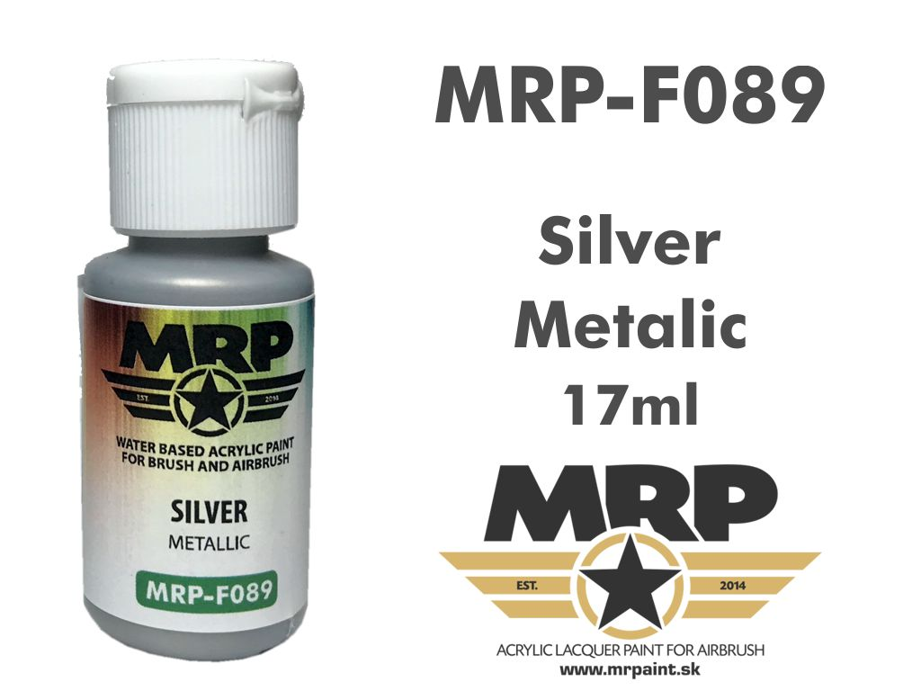Mr.Paint F089 Silver 17ml