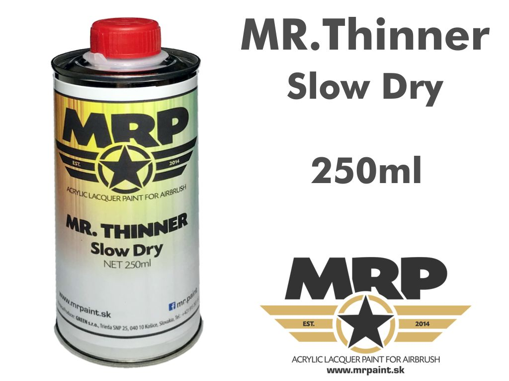 MR. Thinner Slow Dry - riedidlo 250ml