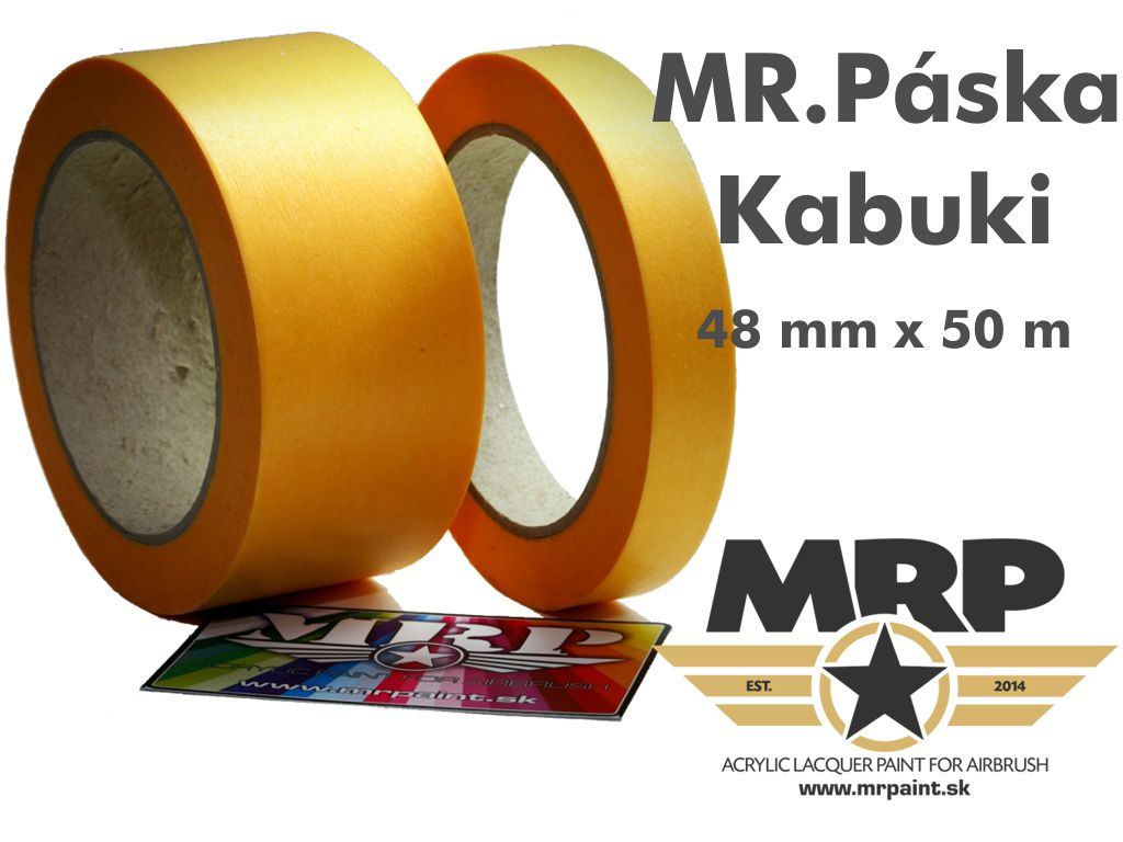 MR.Paint - Maskovacia páska Kabuki 48mm