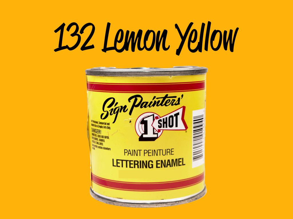 One Shot Lemon Yellow 118 ml
