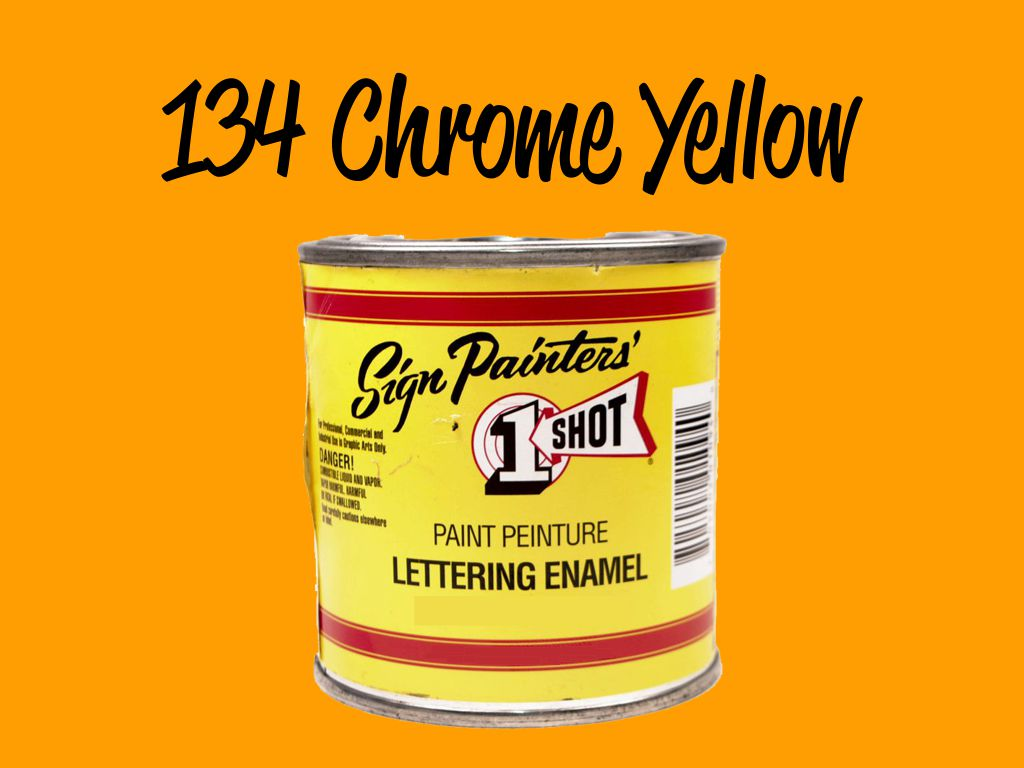 One Shot Chrome Yellow 118 ml