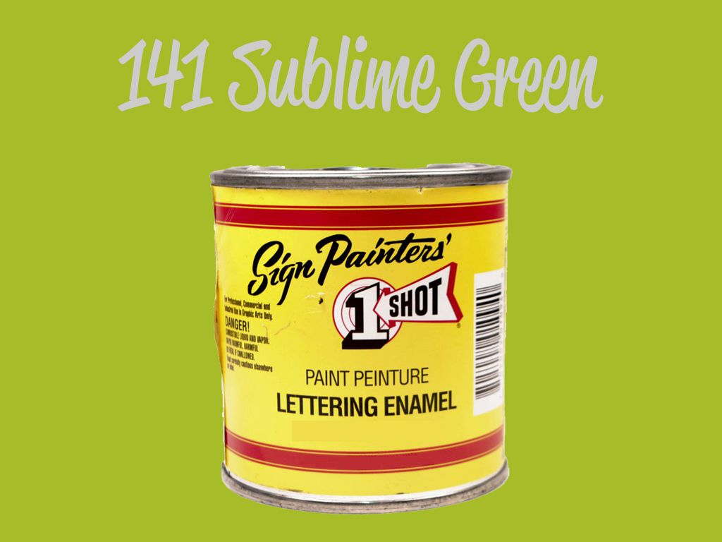 One Shot Sublime Green 118 ml