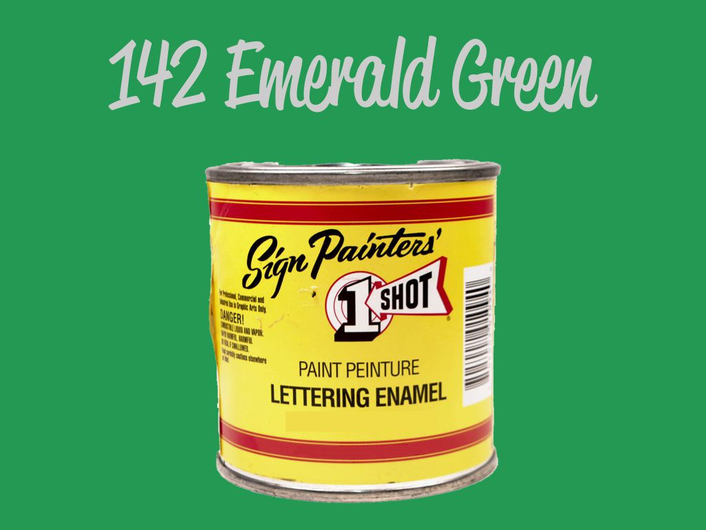 One Shot Emerald Green 118 ml
