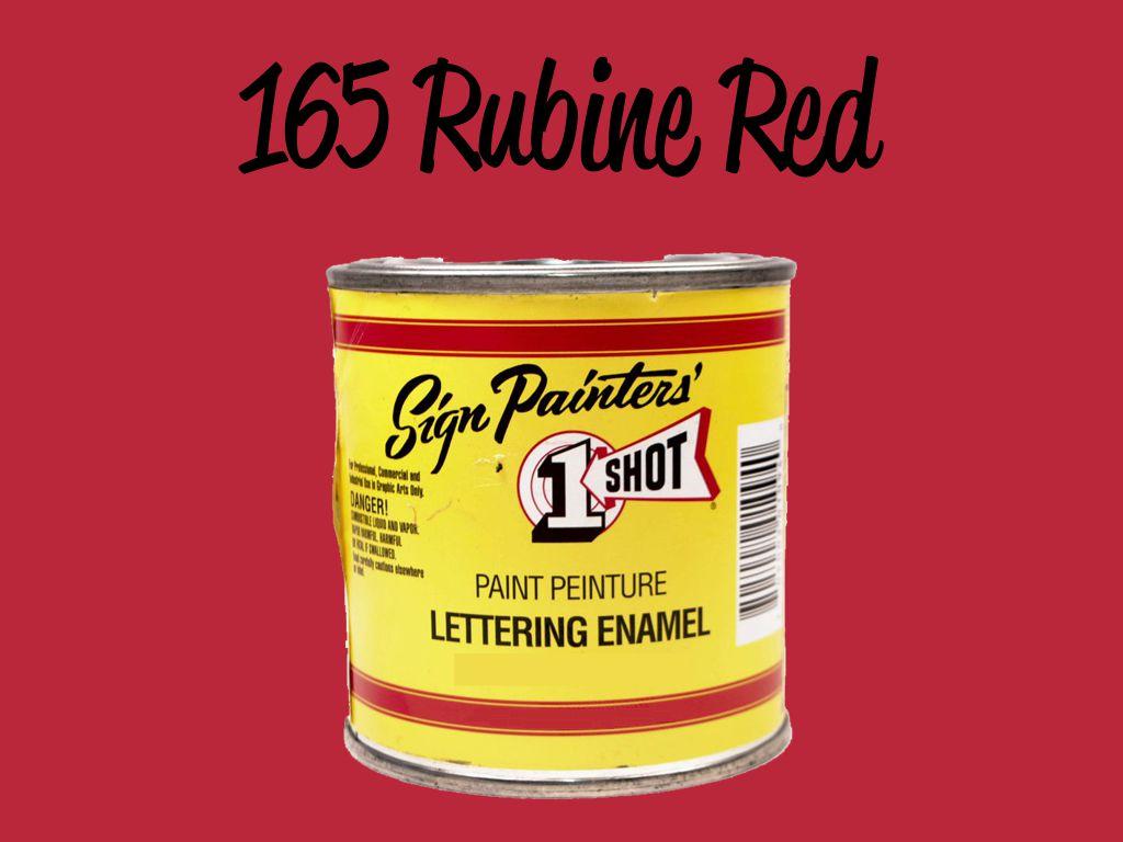 One Shot Rubine Red 118 ml
