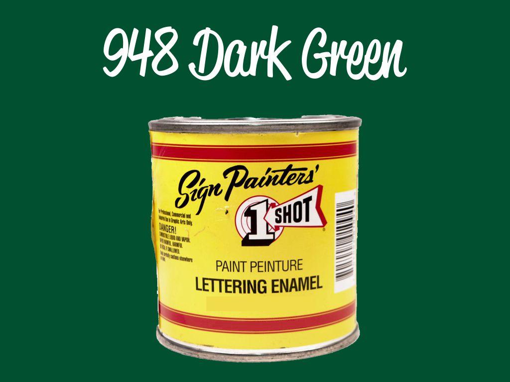 One Shot Pearlescent Dark Green 236 ml