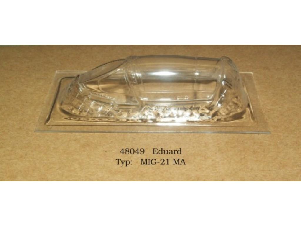 Rob Taurus - 48049 - Vacu kabina - MIG-21 MA - Eduard 1:48