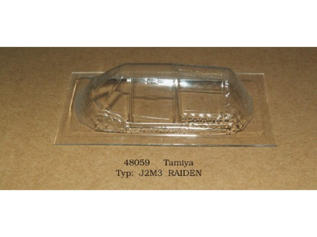 Rob Taurus - 48059 - Vacu kabina - J2M3 Raiden - Tamiya 1:48