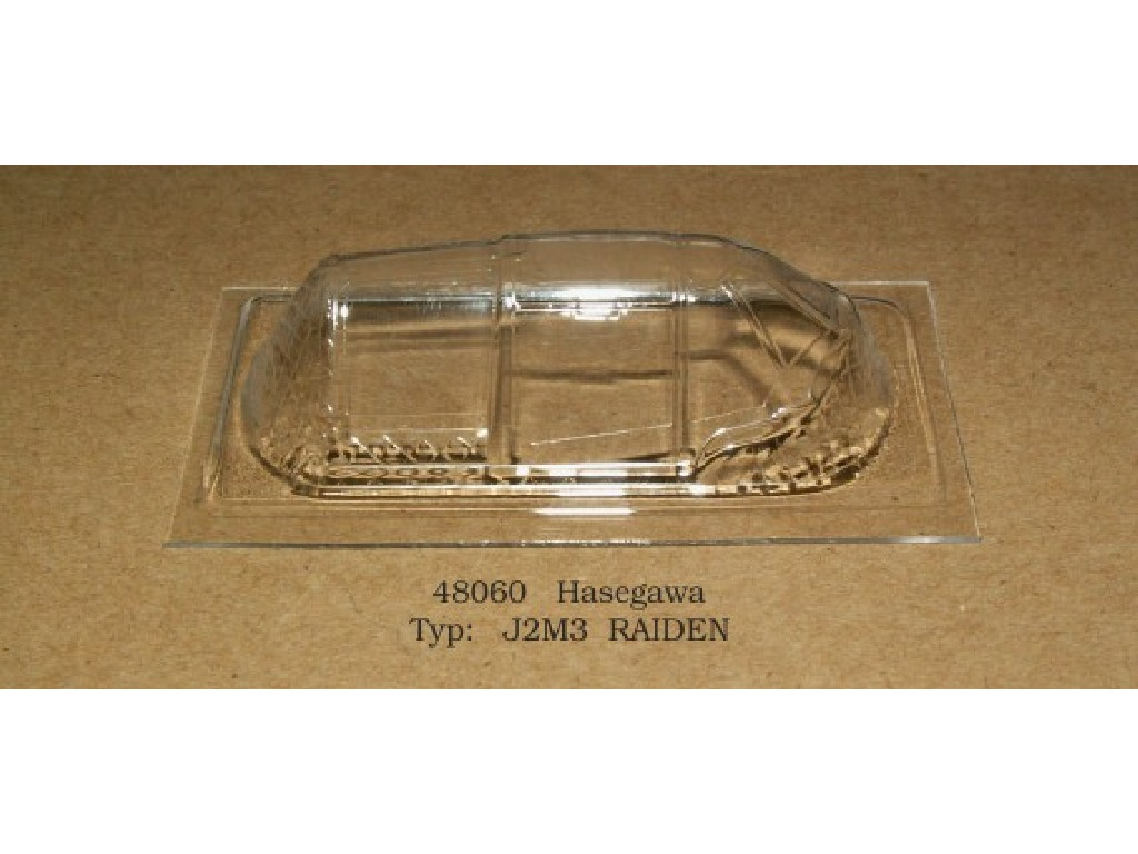 Rob Taurus - 48060 - Vacu kabina - J2M3 Raiden - Hasegawa 1:48