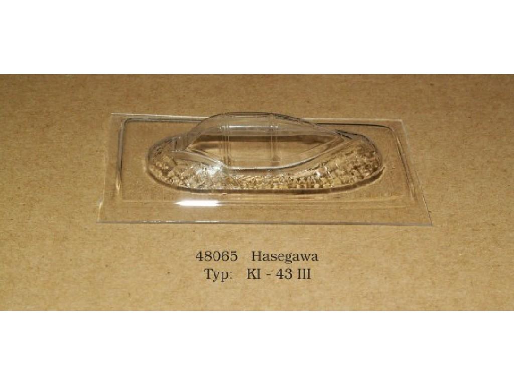 Rob Taurus - 48065 - Vacu kabina - KI - 43 III - Hasegawa 1:48