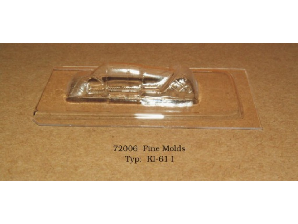Rob Taurus - 72006 - Vacu kabina - KI-61 I - Fine Molds 1:72