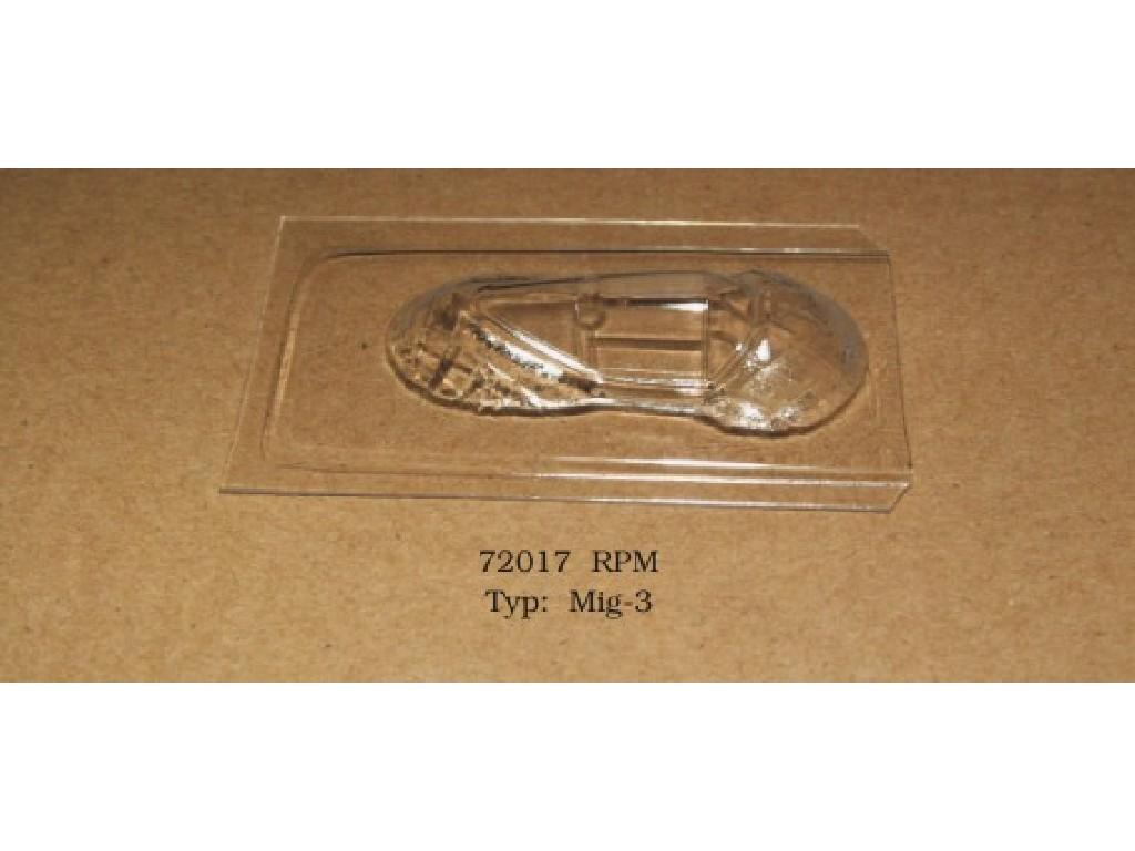 1/72 Vacu kabina - Mig-3 - RPM