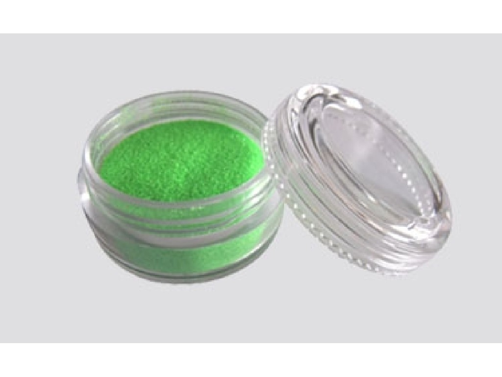 Třpytivý UV prášek - green 10 ml