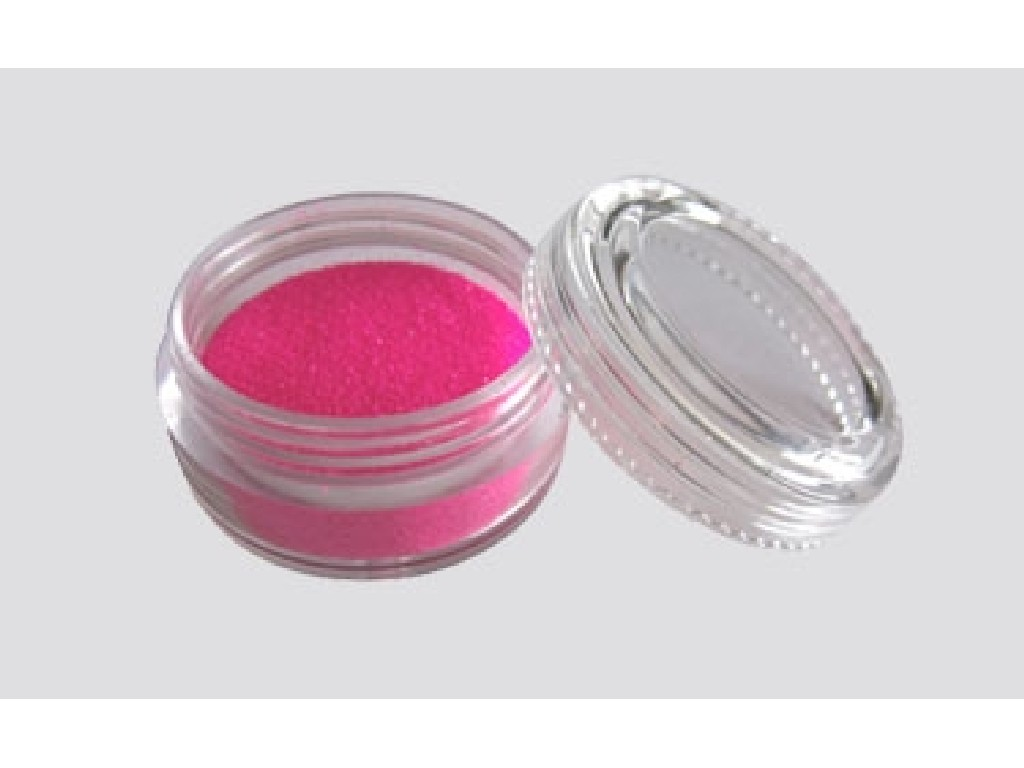Třpytivý UV prášek - pink 10 ml
