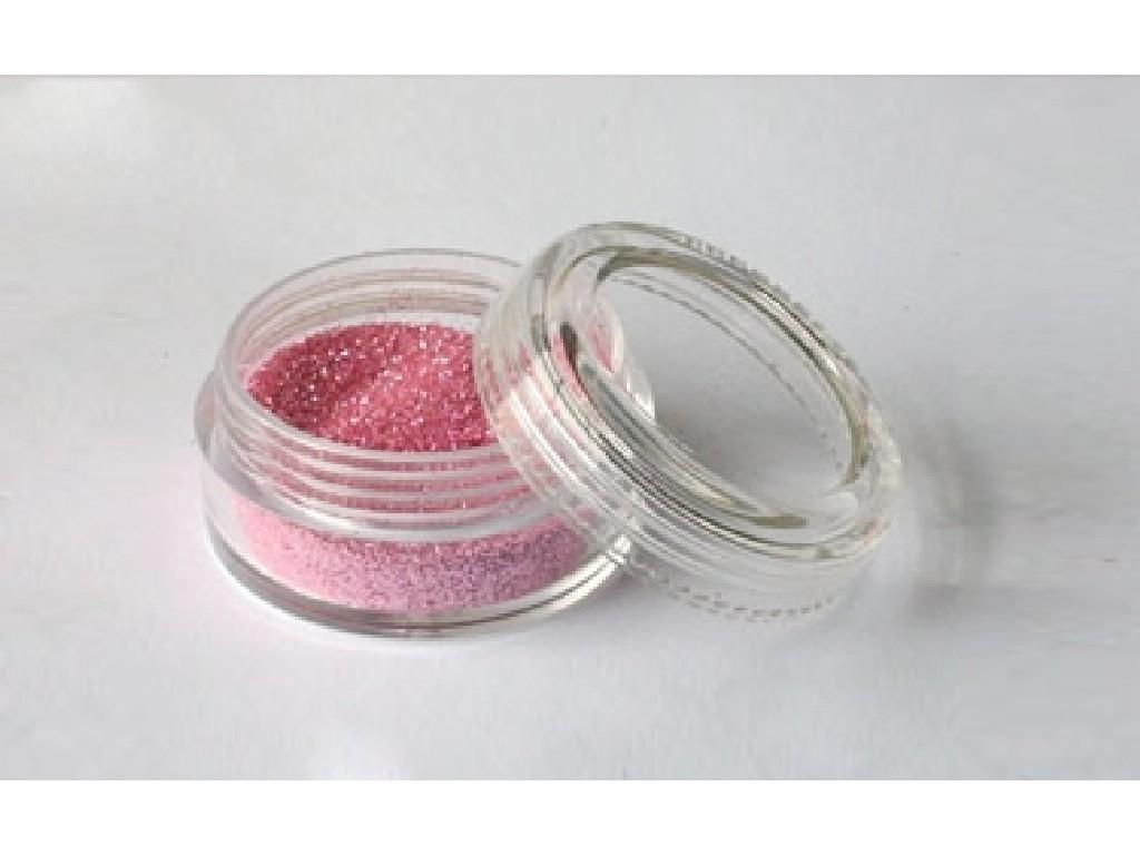 Třpytivý prášek - Baby pink 30 ml