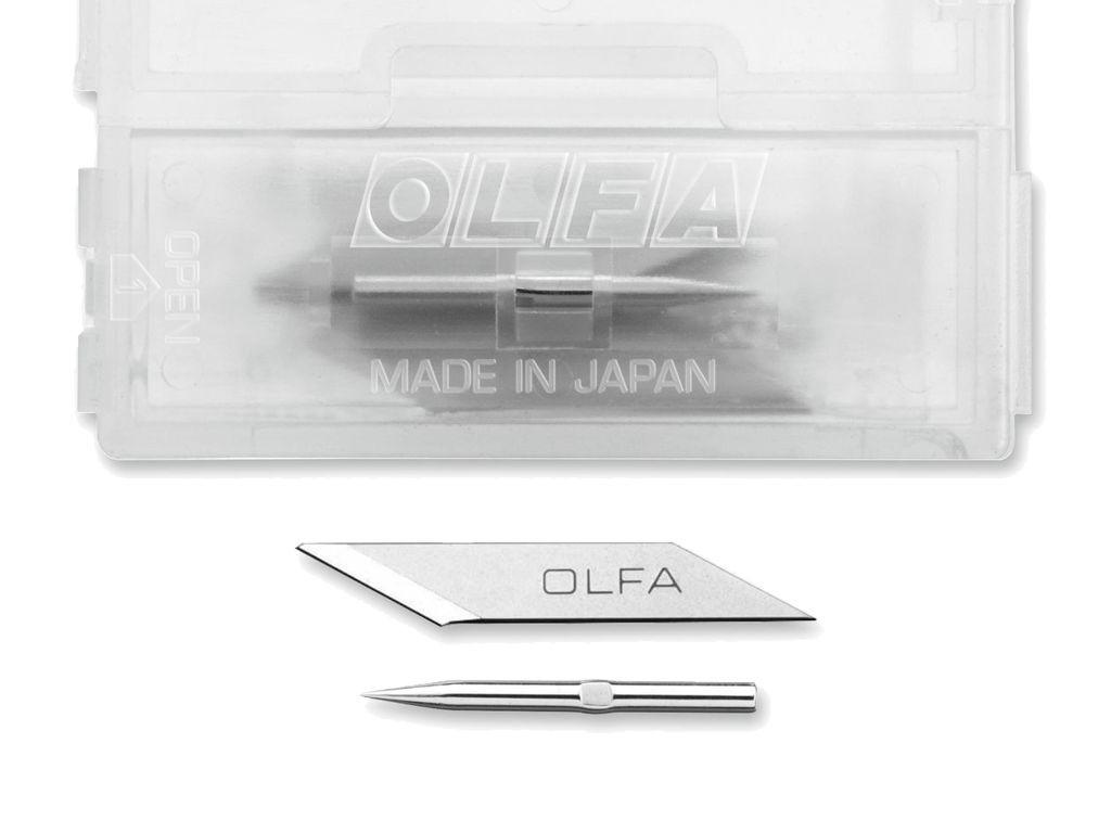 Olfa - Náhradní čepel a jehla pro skalpel AK-5